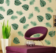 Large Green PALM TREE wall sticker MURAL decal tropical leaves Home Room decor