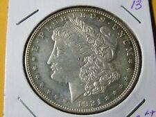 1921-P Morgan Silver Dollar #13 No Reserve - AU++