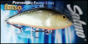 SALMO FATSO Floating 10 cm, 47 g, GS (Grey Silver) color