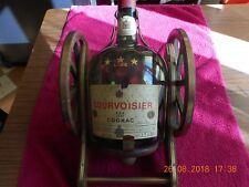"""porte bouteille """"vide""""canon COURVOISIER luxe cognac1.5 litre médaille d'or"""