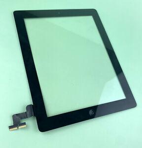 Original OEM Apple iPad 2 Touch Glass Digitizer Black, Home Button