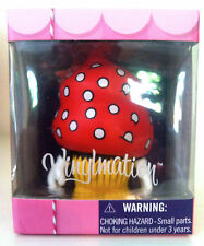 """DISNEY VINYLMATION 3"""" BAKERY SERIES 1 MINNIE MOUSE CUPCAKE COLLECTIBLE NEW TOY"""