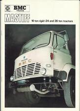 LEYLAND MASTIFF 16 TON RIGID LORRY TRUCK SALES BROCHURE 1969