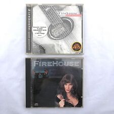 Sony CBS Records Autographed Firehouse & Firehouse Good Acoustics CDs Epic