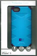 Case Logic Apple iPhone 5 Durable Protective Fitted Case Blue Purple CL5-103