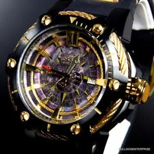 Invicta Disney Pirates of the Caribbean Automatic Gold Tone 52mm LE Watch New