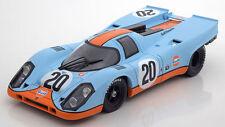 Norev 1970 Porsche 917 K Gulf 24h Le Mans #20 Siffert/Bell LE 2000pcs 1:18*New!