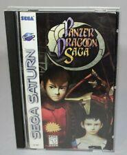 Panzer Dragoon Saga Sega Saturn CIB Complete w/ Black Sleeves & Registration!
