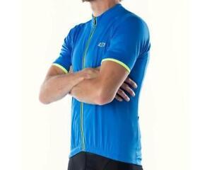 Bellwether Classic Criterium Pro Cycling Jersey (Cyan Blue/Yellow)