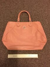 Vivienne Westwood Pink Leather Bag New