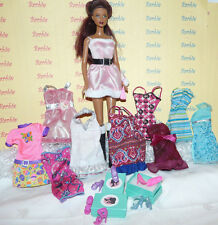 Barbie Doll KAYLA Large Lot of Clothes Shoes Shoes Boxes African American
