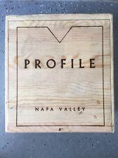 PROFILE - Marryvale Vineyards - Napa Valley Wooden Wine Box