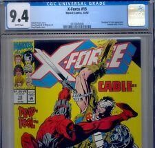 PRIMO:  X-FORCE #15 CGC 9.4 NM DEADPOOL + CABLE Marvel movie comics lot 2 98