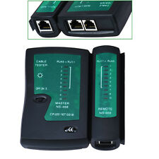 RJ45 RJ11 CAT5 CAT6 CAT7 UTP STP SFTP NETWORK LAN CABLE TESTER WITH LED TORCH