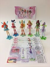 Kinder surprise Winx club Limited Edition Set of 6 RARE Tecna BPZ Allemagne 2006