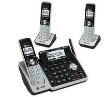 2-Line Home Office Answering System with 3 Cordless Phones Set TL88102 + 2 88002