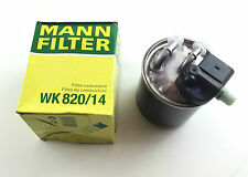 Mann-Filter Filtro Combustibile wk820/14 div. MERCEDES CDI FUEL FILTER