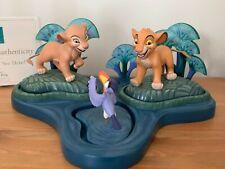 Walt Disney Classic Collection WDCC Figurine: Simba Nala Zazu The Lion King NLE