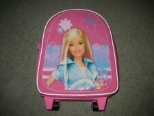 2005 Mattel Tara Barbie Doll Pink Toy Case Suitcase Luggage Tote with Wheels