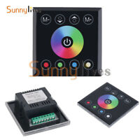 DC12/24V Touch Panel Dimmer Switch Controller for RGBW Led Strip Light RGB/RGBW
