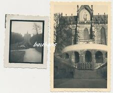 2 x Foto mit Kassel  Wilhelmshöhe-Soldaten  (d419)