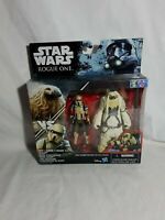 Star Wars Rogue One Moroff & Scarif Stormtrooper Figures Hasbro 2016 Aus Seller
