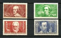 FRANCE N° 330/333 CHÔMEURS INTELLECTUELS 1936 Neufs**. Cote 75€