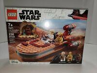 LEGO Star Wars: A New Hope Luke Skywalkers Landspeeder 75271 Building Kit 236 Pc