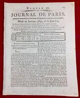 États Généraux Loiret en 1789 Orléans Louis 16 Révolution Française Opéra