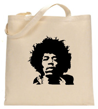 Shopper Tote Bag Cotton Canvas Cool Icon Stars Jimmy Hendrix Ideal Gift Present