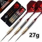 3PCS23g 25g 27g Professional Steel Tip Darts Barrel Needle With Red Dart Flights