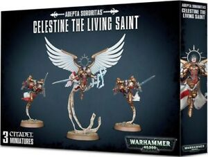 Celestine the Living Saint Adepta Sororitas Sisters of Battle Warhammer 40K NIB