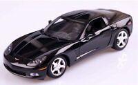 Chevrolet, Corvette, C6, Black.  Metal. Model Car.