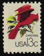 Scott #1757a...13 Cent....Cardinal...25 Stamps