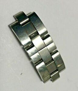 Partial Ladies Cartier Roadster 15mm Partial Steel Watch Bracelet / Clasp/ Links