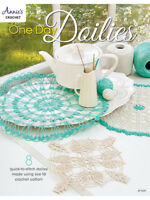 One Day Doilies Crochet Instruction Doily Patterns Annie's Quick NEW