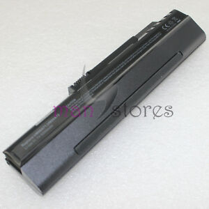 6 Cell 5200mAh Battery for Acer Aspire One ZG5 A110 A150 AOA150 Black