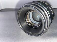"Helios 44-2 lens modified for ""soap bubble"" style bokeh"