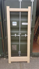 "Internal Hemlock Doors with beading for glazing 33"" wide x 79 ""high x 35mm thick"