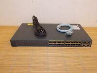 Cisco Catalyst WS-C2960+24TC-S Switch 24FE 2 SFP or 1000Base-T Uplinks LAN Lite