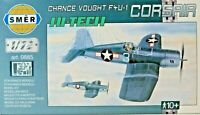 SMER,Vought Corsair F4U-1,US Air Force,WW II, Bausatz,53 Teile,0885,1:72,OVP,NEU