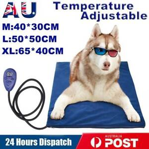 Waterproof Pet Electric Heating Heated Dog Cat Pad Warmer Mat Thermal Protection