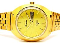hmt genuine kanchan automatic gold plated vintage rare India watch run order EQ1