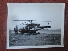 PHOTO HELICOPTER HELICOPTERE HUBSCHRAUBER SUD AVIATION ALOUETTE III