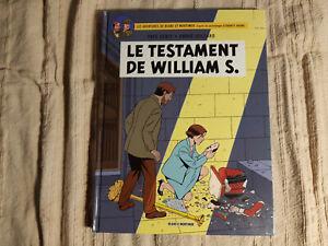 BLAKE ET MORTIMER EN EO - LE TESTAMENT DE WILLIAM S. - SENTE - JUILLARD