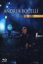 "ANDREA BOCELLI ""VIVERE-LIVE IN TUSCANY"" BLU-RAY NEU"