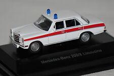 Mercedes /8 Polizei Österreich weiß 1:87 Schuco neu + OVP
