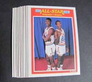 1989-90 Fleer Basketball Lot of 19 - Mullin, Malone, Worthy +