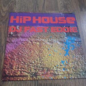 "DJ FAST EDDIE - HIP HOUSE 7"" 1988 DJ INTERNATIONAL EX"