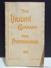 1907 Upjohn Pharmaceutical Catalog Cannabis Cocaine Opium Medical Apothecary Vtg